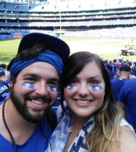 Toronto Blue Jays Kait and Tommy