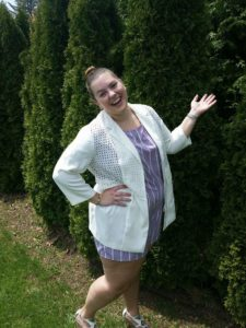 spring lilac romper Kait Gambier
